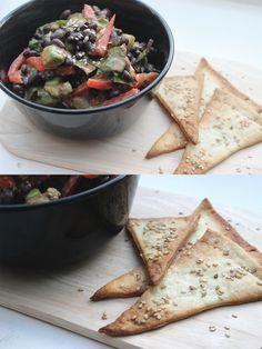 Johanna wagte sich das erste mal an schwarze Bohnen und zauberte daraus gleich so einen köstlichen Salat!
