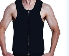 ValentinA Slimming Neoprene Vest Hot Sweat Shirt Body Shapers for Weight Loss Mens -- See this great product. (Note:Amazon affiliate link) #slimmingneoprene vest