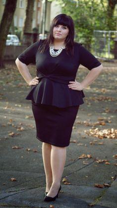 Plus Size Fashion - elegant new years eve plus size outfit inspiration