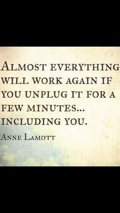 Almost everything will work if you unplug it for a few minutes, including yourself