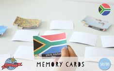 South African Icons Memory Game | South Africa | Around the World in 80 Days | Moomookachoo