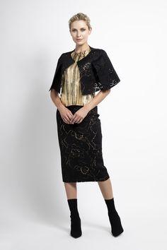 Caroline Kilkenny, Lace Skirt, Sequin Skirt, Fall Winter, Autumn, Sequins, Skirts, Fashion, Moda