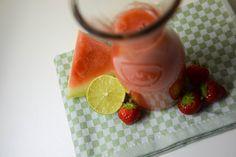 Watermelon Berries Smoothie