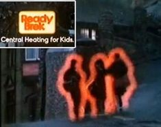 Central heating for kids? More like kids living near the Windscale nuclear reactor in Cumbria. 1980s Childhood, Childhood Days, Tv Adverts, Tv Ads, I Remember When, Old Tv, The Good Old Days, Growing Up, The Past