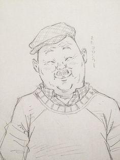 バイク屋のオヤジの笑顔 by Eisakusaku