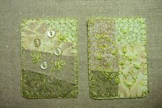 Simple Green ATCs | Flickr - Photo Sharing!