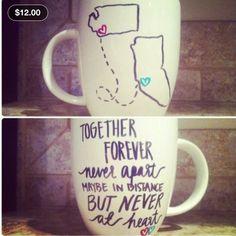 Long Dostance Relationship Mug