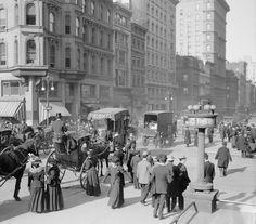 Fifth Avenue 42 Street 1898 Photograph