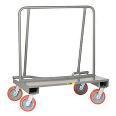 Little Giant® Drywall Cart 8 x 2 Polyurethane Wheels, Assembled Steel Deck, Panel Truck, Little Giants, Industrial Hardware, Tubular Steel, Construction Materials, Drywall, Trucks, Organizers