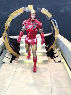 Tony Stark Iron Man Robert Downey Jr. Figurine at Thailand Comic Con