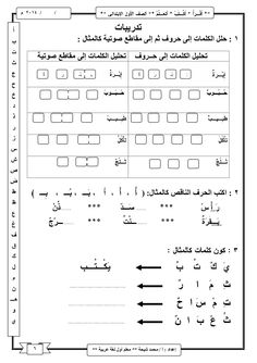 شرح منهج اللغة العربية للصف الأول الابتدائى ترم اول Write Arabic, Arabic Phrases, Arabic Words, Arabic Font, Arabic Quotes, Arabic Alphabet For Kids, Arabic Alphabet Letters, 1st Grade Math Worksheets, Alphabet Worksheets