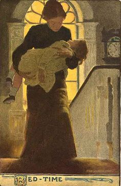 Bed-Time - by Jessie Willcox Smith