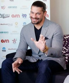 Hi my beauitful daddy I love your smile it lights up your beauitful face and you and your smile makes my heart sing my angel I love you to the moon and the stars and back again my love Roman Reigns Smile, Wwe Roman Reigns, Daddy I Love You, Love Your Smile, Roman Regins, Wwe Superstar Roman Reigns, Watch Wrestling, Wwe World, Wwe Superstars