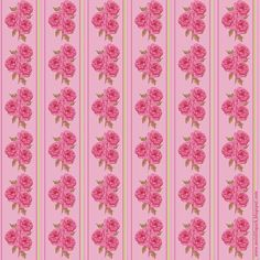 Free Flower Scrapbooking And Wrapping Paper In Vintage Design