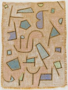 Paul Klee, Slightly Dry Poem, 1938, Harvard Art Museums/Busch-Reisinger Museum.