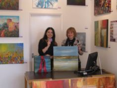 'Beach Side II' by Lisa Ridgers won by Patrick Warburton
