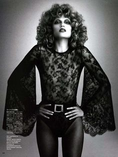 Lonely Party Girl Editorials : Vogue Paris March 2014
