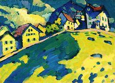 Wassily Kandinsky - Summer Landscape 1909