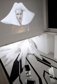 The Fudge Pop-Up Salon by Zaha Hadid Architects - Video screen