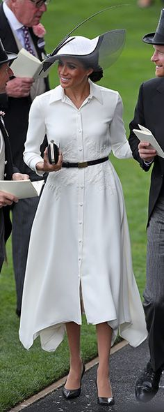 19 Jun 2018 - Meghan Markle, the Duchess of Sussex attends Day 1 of Royal Ascot