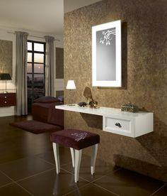 Espejo La Belle #VilleroyBoch #VilleroyBochEs #espejos #espejosdebaño #LaBelle #estilo #diseño #elegancia #inspiración