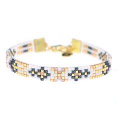 Beads-armbandje 'Winter Ornaments' - Mint15