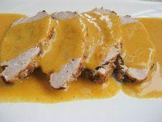 Pucheros y sartenes: Cinta de lomo con salsa suave. Salsa Suave, Sin Gluten, Cheesesteak, Breakfast, Ethnic Recipes, Food, Easy Food Recipes, Dishes, Carrots