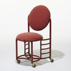 247: Frank Lloyd Wright / Chair From The Johnson Wax Building, Racine,  Wisconsin