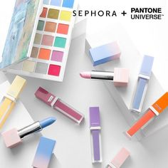 """""""We hope you left room on your holiday wish list!  The 2016 Color of the Year collection is now available to shop @Sephora  #SephoraPantone #Pantone…"""""""