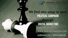 We find new ways for your political campaign through Digital Marketing. http://sunraisesolutions.com/political-campaign-company-an…/ Contact: 9494348232 / 6281446234 #politicalcampaign #politics #digitalmarketing