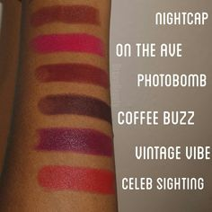 "Wet 'N Wild ""Here's to the Wild Ones"" Fall Collection Lipsticks"