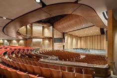 Inclusivity sparks innovation which leads to the design of exceptional architecture. Dance Hall Architecture, Auditorium Design, Modern Church, Old Abandoned Houses, Church Interior, Commercial Architecture, Black Box, Concert Hall, Home Theater