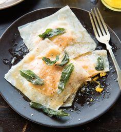 Butternut Squash Ravioli with Sage and Browned Butter