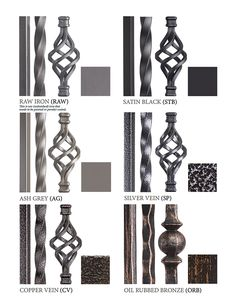 House of Forgings iron balusters | House of Forgings | Stair and Railing Products
