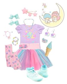 """Fairy kei #4"" by sweetpasteldream ❤ liked on Polyvore featuring John Lewis"