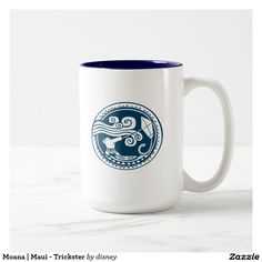 Moana | Maui - Trickster. Regalos, Gifts. Producto disponible en tienda Zazzle. Tazón, desayuno, té, café. Product available in Zazzle store. Bowl, breakfast, tea, coffee. Link to product: http://www.zazzle.com/moana_maui_trickster_two_tone_coffee_mug-168605291990052811?CMPN=shareicon&lang=en&social=true&rf=238167879144476949 #taza #mug #moana