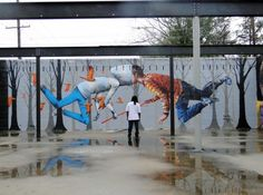 "Seth - ""Baton Rouge"", Louisiana, collaboration with Fintan Magee from Australia"