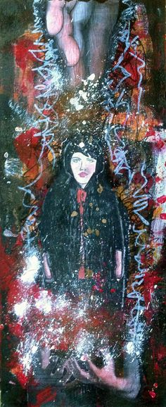 Great Woman 2013 mixed media on wood