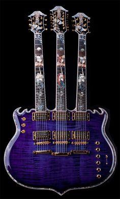 MINARIK Trinity triple neck #guitar http://ozmusicreviews.com/music-promotions-and-discounts