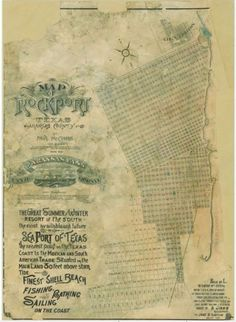 Mapping Texas: The Gulf Coast — Coastal Cities – Save Texas History – Medium