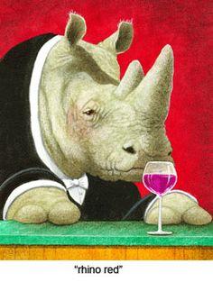 will bullas art | Rhino Red by Will Bullas