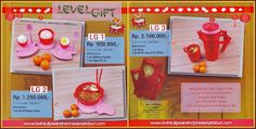 Level Gift Tulipware Januari - Februari 2014
