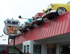Bliss' Hot Rod Grill in Florence, Oregon