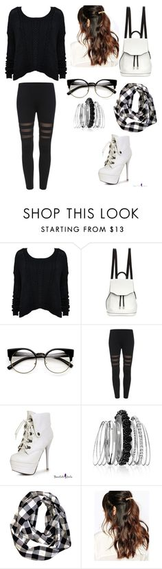 """""""Untitled #7"""" by violeta9051 ❤ liked on Polyvore featuring beauty, Alice + Olivia, rag & bone, Avenue and Suzywan DELUXE"""
