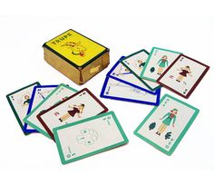 1939 Girl Scout Trupe Card Game  Official Girl by leapinglemming, $59.95