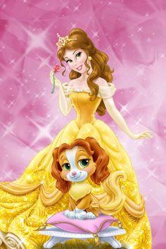 Disney Princess Palace Pets - Belle and Teacup #MKToyTime