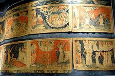 La tapisserie de Bayeux  100m. (XIVème siècle). Angers. Pays-de-la-Loire