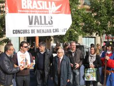 Lliurament de premis del Concurs de Menjar Calçots, amb el regals de Cafès Brasilia.
