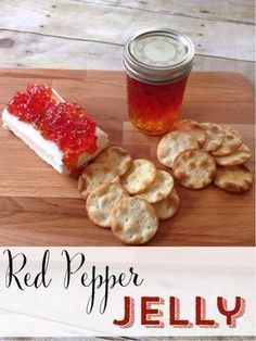 Red pepper jelly is so simple to make and works great as an appetizer. Make a batch and spread a jar over cream cheese. Your guests will love it!