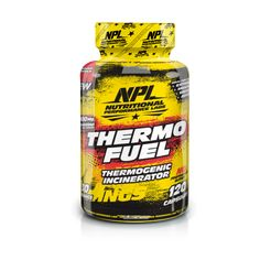 NPL Thermo Fuel is a revolutionary enhanced weight control aid, designed to target body fat and preserve lean muscle. Thermo Fuel combines extreme thermogenic ingredients designed to increase core body temperature in order to accelerate your metabolism to the next level.